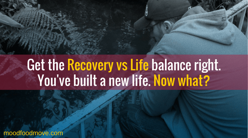 Get the recovery vs life balance right. The ideal is 'light management'.